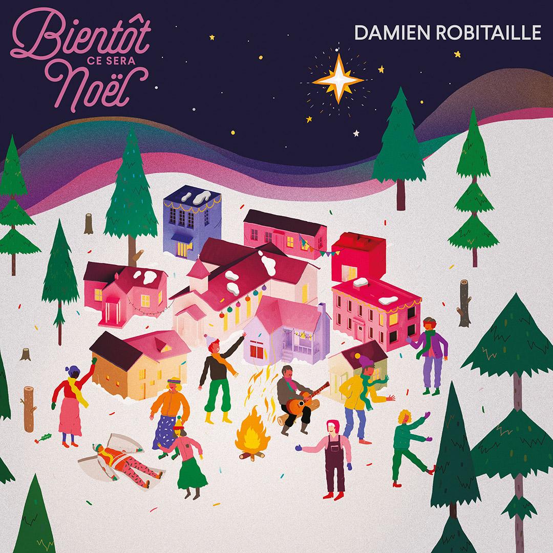 Un premier album de Noël pour Damien Robitaille