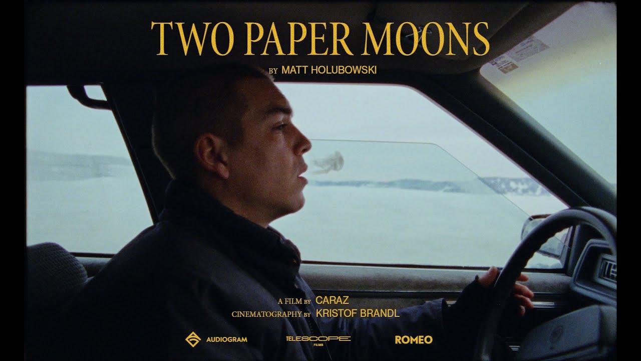 MATT HOLUBOWSKI : Nouvel extrait Two Paper Moons en vidéoclip