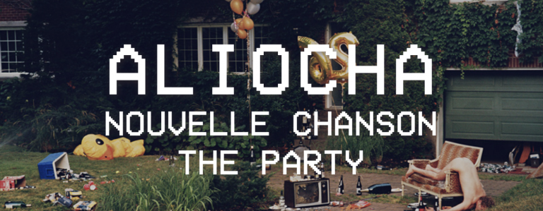 ALIOCHA nouvelle chanson THE PARTY