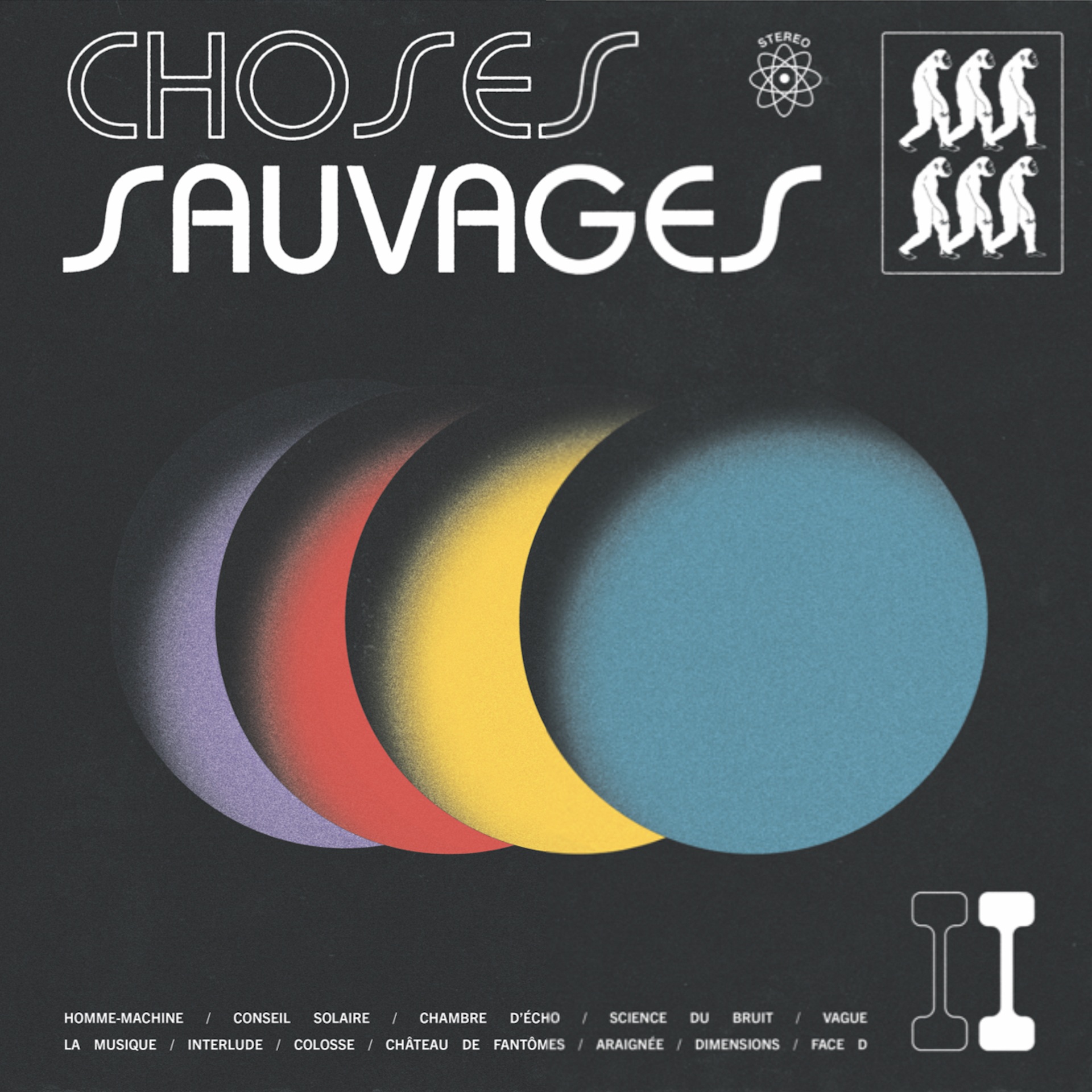 CHOSES SAUVAGES : nouvel album maintenant disponible