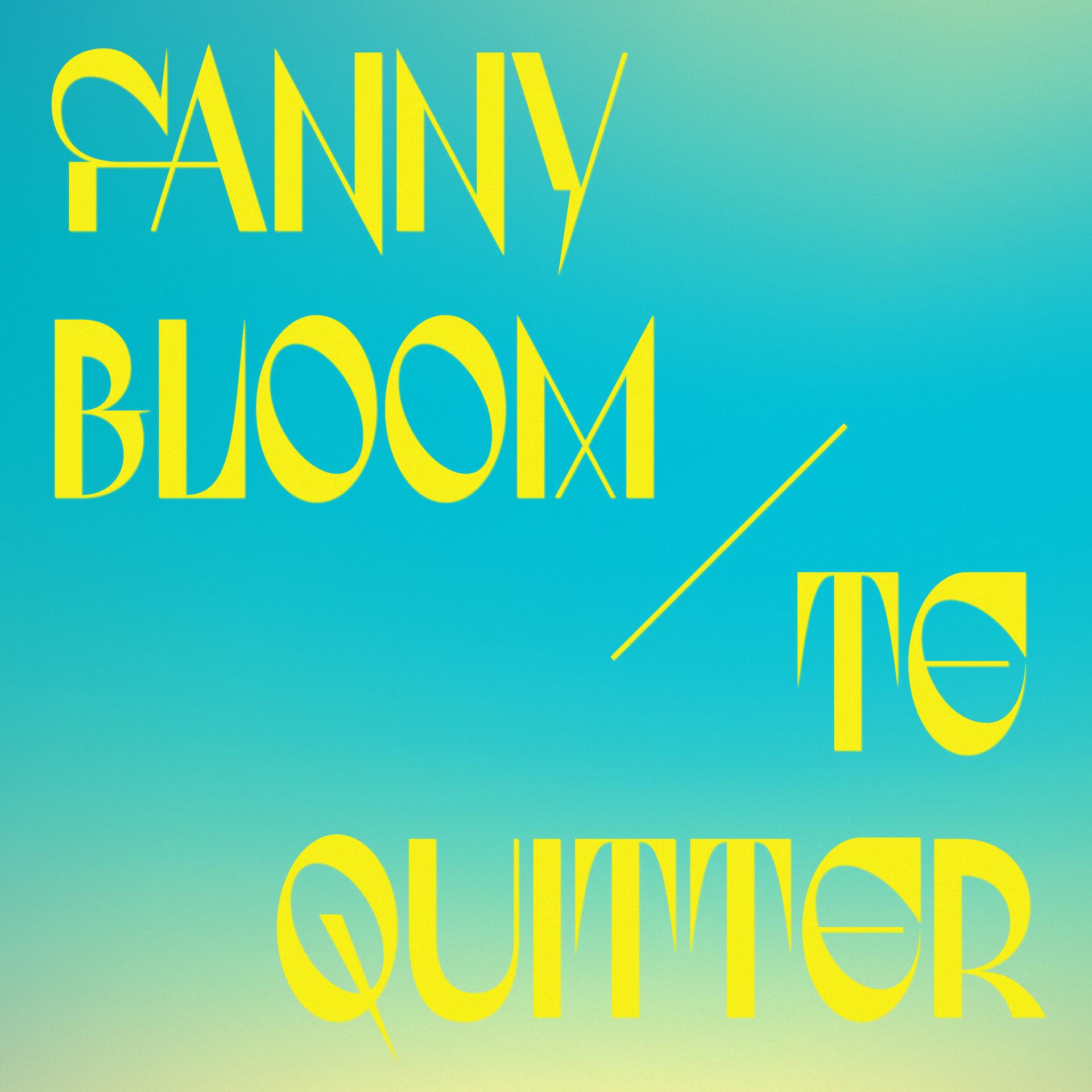 FANNY BLOOM se joint à Audiogram et présente une reprise de Te quitter