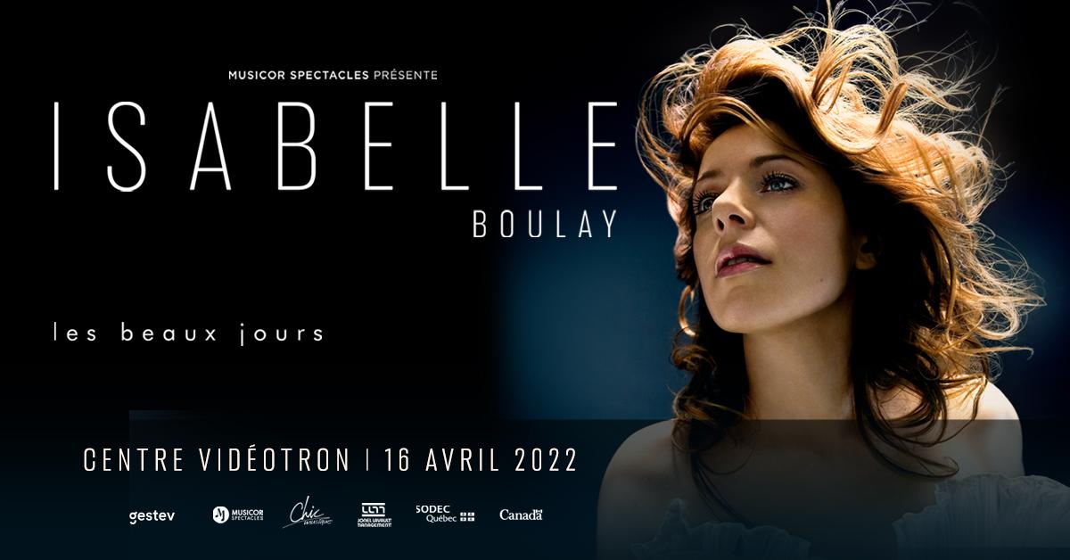 Isabelle Boulay présente Les beaux jours