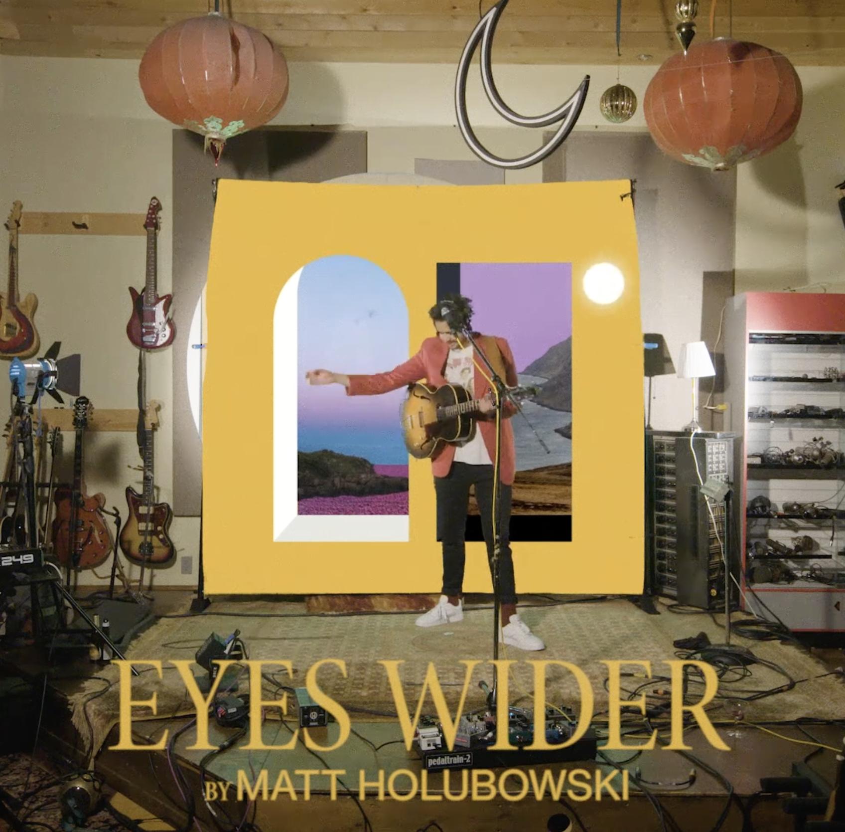 MATT HOLUBOWSKI présente un nouvel extrait en radio