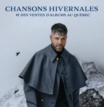 Chansons hivernales de Pierre Lapointe #1 des ventes d'albums au Québec