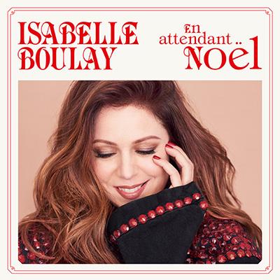 Pochette de l'album *En attendant Noël* d'Isabelle Boulay