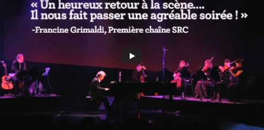 André Gagnon - Les chemins ombragés en spectacle
