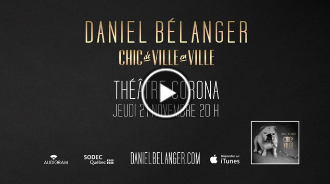 Daniel Bélanger en spectacle | Teaser